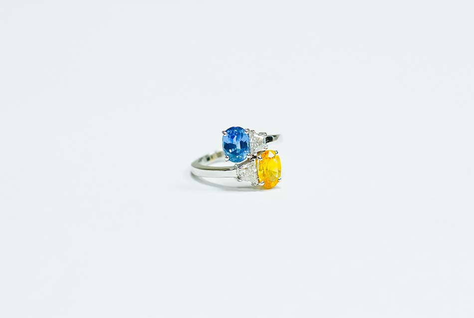 gems with vivid colors