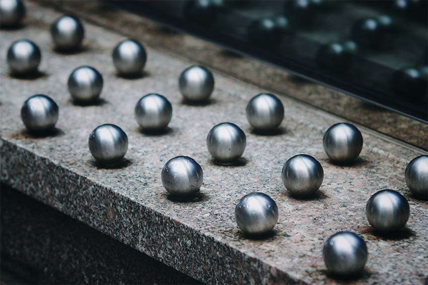 silver pearls